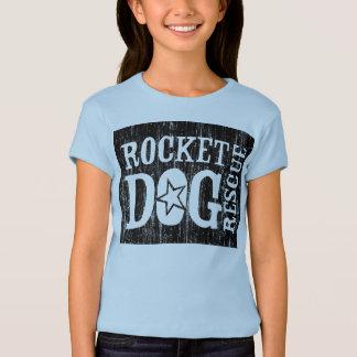 RDR Logo (Vintages Schwarzes) T-Shirt