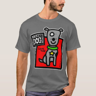 RDR - ToddParr (grauer Hund) T-Shirt