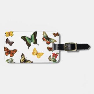 realistische Schmetterlinge Koffer Anhänger