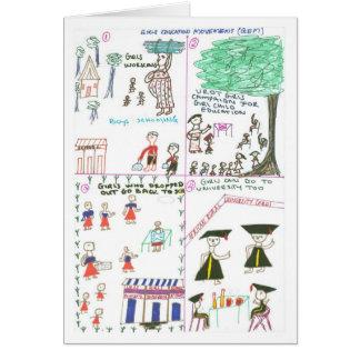 Rebecca erklärt Mädchen-Bildungs-Bewegung Karte