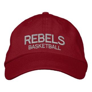 Rebell-Basketball-Hut Bestickte Caps