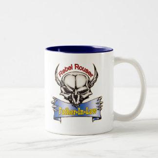 Rebellender vatertags-Geschenke Rouser Zweifarbige Tasse