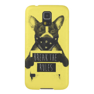Rebellenhund (Gelb) Samsung Galaxy S5 Cover
