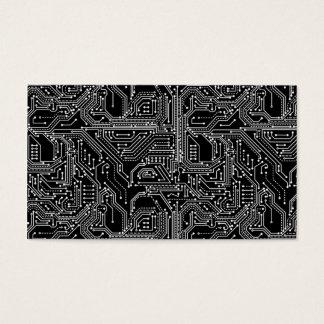 Rechnerschaltung-Brett-Visitenkarte Visitenkarte