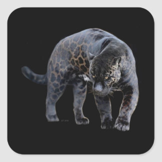 Rechteckiger Aufkleber Jaguars Diablo