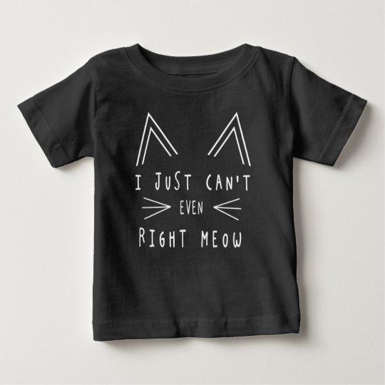 Rechter Meow Baby T-shirt