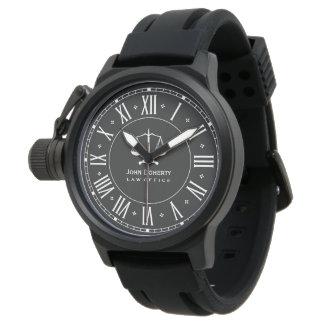 RECHTSANWALTSBÜRO | klassisches Personalizable Armbanduhr