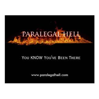 Rechtsassistent-Hölle, WISSEN Sie, dass Sie dort,… Postkarte