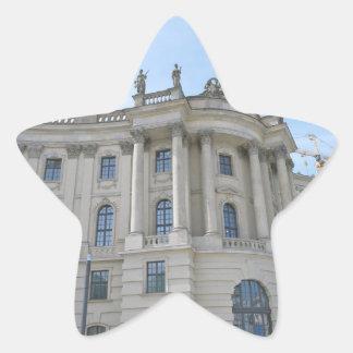Rechtsfakultät-Humboldt-Universität Stern-Aufkleber
