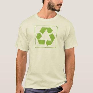 Recyceln des Logos T-Shirt