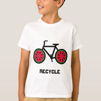 Recyceln Sie bycycle Kindert-shirt T-Shirt