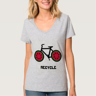 Recyceln Sie bycycle T-Shirt