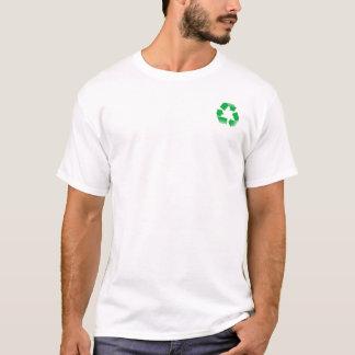recyceln Sie Dumbauten T-Shirt