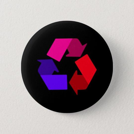recyceln Sie Knopf Runder Button 5,1 Cm