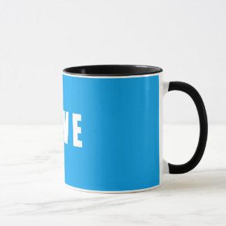 Recyceln Sie Liebe Tasse