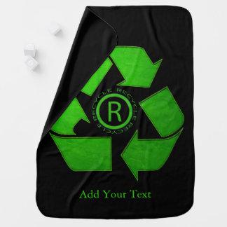 Recyceln Sie Logo durch Shirley Taylor Kinderwagendecke
