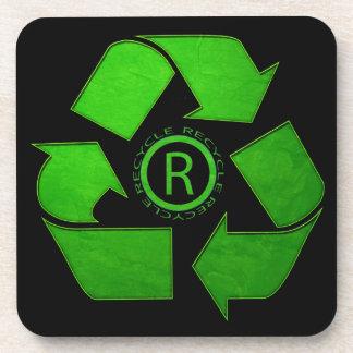 Recyceln Sie Logo durch Shirley Taylor Untersetzer