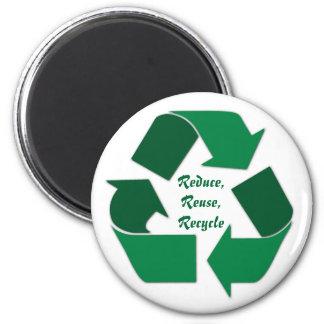 Recyceln Sie Magneten Runder Magnet 5,7 Cm