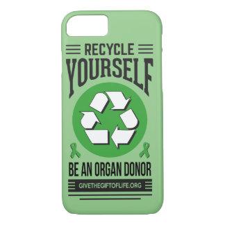 Recyceln Sie sich Telefonkasten iPhone 8/7 Hülle