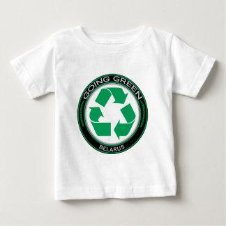 Recyceln Sie Weißrussland Baby T-shirt