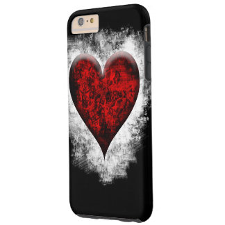 Red heart design Iphone case