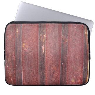 Red wall laptopschutzhülle