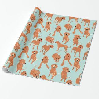 Redbone Coonhound-Packpapier Geschenkpapier