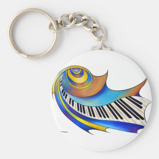 Redemessia - gewundenes Klavier Schlüsselanhänger