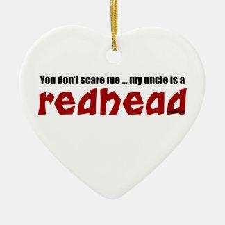 Redhead-Onkel Keramik Herz-Ornament