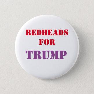 Redheads für TRUMPF Kampagnen-Knopf Runder Button 5,1 Cm