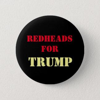 Redheads für TRUMPF Kampagnen-Knopf Runder Button 5,7 Cm