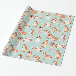 Redtick Coonhound-Packpapier Einpackpapier