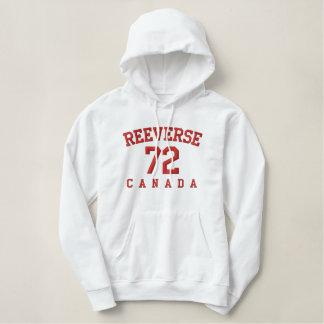 Reeverse Kanada 72 weißer/roter HOODIE