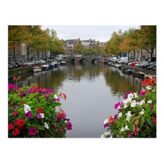 Reflexionen von Amsterdam - Postkarte