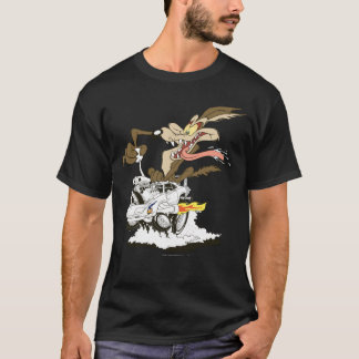 Regard d'E. Coyote Crazy de Wile T-shirt