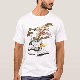 Regard d'E. Coyote Crazy de Wile T-shirt