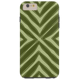 Regard de toile de vert africain moderne coque iPhone 6 plus tough