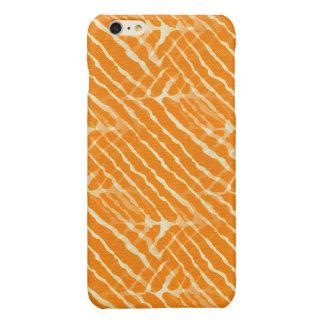 Regard orange de toile de rayures de tigre
