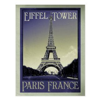 regard vintage de Paris France Carte Postale