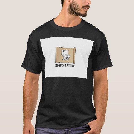 regelmäßiger Studienspaß T-Shirt