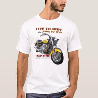 Regelmäßiger Valkyrie Motorradentwurf T-Shirt