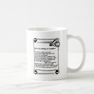 Regeln für verabredeten meine Tochter Kaffeetasse