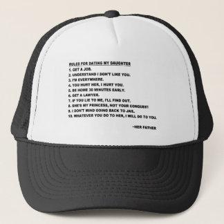 Regeln für verabredeten meinen Tochter-Hut für Truckerkappe