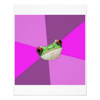 Regelwidriges Bachelorette Frosch-Ratetier Meme 11,4 X 14,2 Cm Flyer