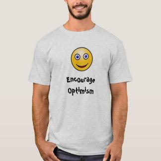 Regen Sie Optimismus an T-Shirt
