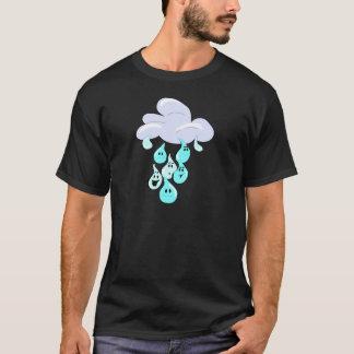 Regen-Tropfen T-Shirt