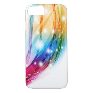 Regenbogen abstrakt von der Liebe iPhone 7 Hülle