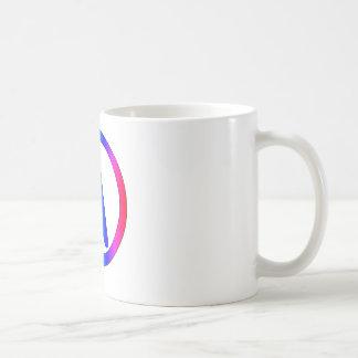 Regenbogen-Atheist Kaffeetasse