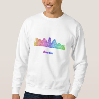 Regenbogen-Austin-Skyline Sweatshirt