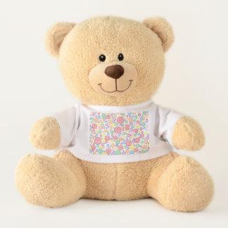 Regenbogen-Blasen erleichtert Teddy